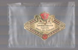 Etiquette . Savon De Toilette . - Perfume Cards