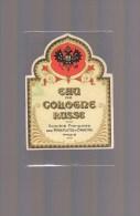 Etiquette . Eau De Cologne '' RUSSE '' . - Perfume Cards