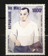 Mali 1981 N° PA 410 ** Tableau, Peintre, Pablo Picasso, Autoportrait, Cubisme, Surréalisme, Guernica, Dessinateur - Mali (1959-...)