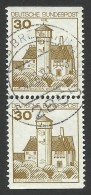 Germany, 30 Pf. 1977, Sc # 1234, Mi # 914, Used Pair. - [7] Federal Republic