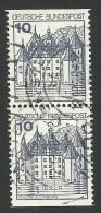 Germany, 10 Pf. 1977, Sc # 1231, Mi # 913, Used Pair. - [7] Federal Republic