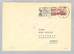 DE Saarland 1953-03-10 Brief EF Mi#285 Nach Adliswil CH - 1947-56 Occupation Alliée