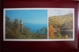 Russia. Baikal Lake  Lighthouse - Phare - Old USSR PC - 1988 - Faros