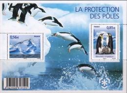 France 2009 - La Protection Des Poles - BF, YT F4350, Neuf** - Sheetlets