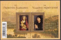 """France 2010 - """"France-Belgique, Primitif Flamands"""" - BF, YT F4525, Neuf** - Sheetlets"""