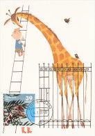 D20946 CARTE MAXIMUM CARD FD 2006 NETHERLANDS - GIRAFFE ROTTERDAM ZOO BLIJDORP CP ORIGINAL - Girafes