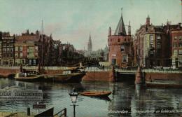 Amsterdam. Schreijerstoren En Geldersche Kade - Amsterdam