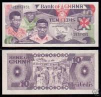 * GHANA - 10 CEDIS 1984 UNC - P 23 - Ghana
