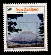 New Zealand 1973 Mountain Scenery 8c Mt. Ngauruhoe Used - - - New Zealand