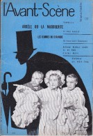 L'Avant Scène Femina Théâtre N° 181 Ardèle Oula Marguerite Jean Anouilh - Les Hommes Du Dimanche JL Roncoroni - Non Classés