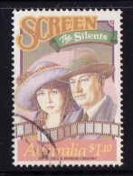 Australia 1989 Stage & Screen $1.10 Used - 1980-89 Elizabeth II