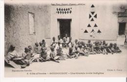 COTE D'IVOIRE 8 BONDOUKOU UNE GRANDE ECOLE INDIGENE (BELLE ANIMATION) - Côte-d'Ivoire
