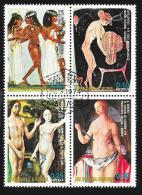 GUINEA EQUATORIAL REP. - SW1860 Nudes  / Used Block Of 4 Stamps (bk567) - Nudi