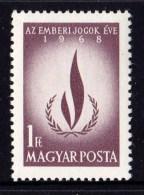 Hungary 1968 Human Rights Year MNH - Hungary