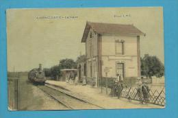 CPA Chemin De Fer Train La Gare COURGIVAUX 51 - France