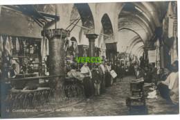 Carte Postale Ancienne De TURQUIE – CONSTANTINOPLE – INTERIEUR DU GRAND BAZAR - Turquie