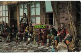 Carte Postale Ancienne De TURQUIE – CONSTANTINOPLE – CAFE TURC - Türkei