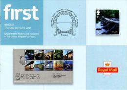 ROYAL MAIL COMMUNICATION STAMPS EMISSION 2015 BRIDGES - Gran Bretaña