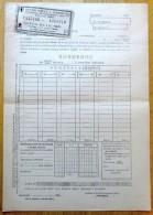 Romania, 1945, Authentic Vintage Bond Receipt - Mortgage Endowment Coupons - Shareholdings