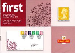 ROYAL MAIL COMMUNICATION STAMPS EMISSION 2015 DEFINITIVES 2015 - Gran Bretaña