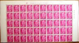 ESPAÑA - EDIFIL Nº 1154 1,40pts + 1155 1,80pts SERIE DE FRANCO - BLOQUES DE 50 SELLOS NUEVOS (**) - 1931-Hoy: 2ª República - ... Juan Carlos I