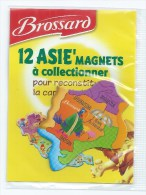 MAGNET BROSSARD - 12 ASIE'MAGNETS - TADJIKISTAN AFGANISTAN PAKISTAN - Animaux & Faune