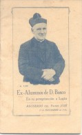 RECUERDO DEL PADRE JOSE VESPIGNANI 23 DE NOVIEMBRE DE 1924 EX ALUMNOS DE DON BOSCO EN SU PEREGRINACION A LUJAN - Religion & Occult Sciences