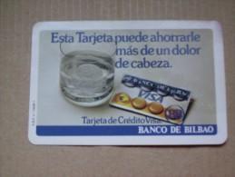 CALENDARIO FOURNIER,  BANCO DE BILBAO, 1982 - Calendarios