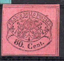 1867 EGLISE - Etats Pontificaux, YT No. 18, Reproduction Privé, Voir Scan, Lot 33297 - Etats Pontificaux
