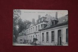 CPA   80 *GUYENCOURT * LE CHATEAU  PROPRIETE DU COMTE DE ROUGE - France