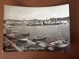 IMPERIA - Panorama Dal Porto - Cartolina FG BN V 1952 - Imperia