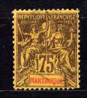 MARTINIQUE - N° 42° - TYPE GROUPE - Martinique (1886-1947)