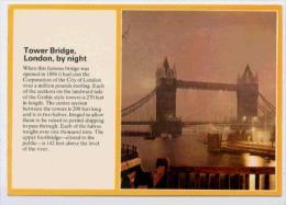 LONDON  Tower Bridge By Night - Tower Of London