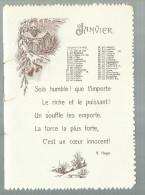 - . KALENDER -/ CALANDRIER = Versie Frans - Calendriers