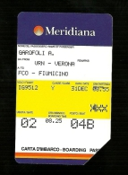 758 Golden - Meridiana Garofoli Da Lire 10.000 Telecom - Italië
