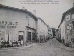 CPA Prissé Environs De Macon Route De La Roche Vineuse Rouennerie épicerie Poids Publics - Frankrijk