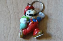 Mario Héros Du Jeu Super Mario Bros De Nintendo - Porte-clefs - Rare (Voir Scans Et Description) - Porte-clefs