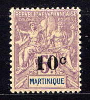 MARTINIQUE - N° 53* - TYPE GROUPE - Neufs