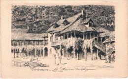 VERSAILLES - TRIANON - La Maison Du Seigneur - Eau Forte De L'Union Parisienne De Graveurs - Non Circulé, 2 Scans - Versailles (Château)