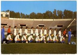 FOOTBALL  L EQUIPE DE L OLYMPIQUE DE MARSEILLE CARTE PUB - Calcio