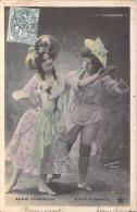 Spectacle- Annie EDMONSON Maud HENWOOD Alhambra  ( Artiste Artiste Music-hal Danse Dance) (Editions : STEBBING 779 ) - Artistes