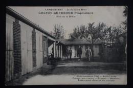 LAMBERSART Pavillon Bleu Gaston LEFEBVRE BOIS DE DEULE  Boxes Pour Chevaux De Courses - Lambersart