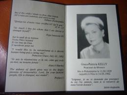 SANTINO  FUNEBRE   GRACE PATRICIA KELLY  1982 - Devotion Images
