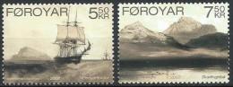 Faroer Féroé  2007 Yvertn° 582-83 *** MNH Cote 5,50 Euro - Faroe Islands
