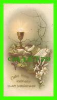 IMAGES RELIGIEUSES - CALIX MEUS INEBRIANS QUAM - SOUVENIR DE 1945 - 1936, N. G. BASEVI No 163 - - Images Religieuses