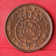 ANGOLA  1  ESCUDOS  1974   KM# 76  -    (Nº12433) - Angola