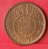 MOZAMBIQUE  1  ESCUDOS  1974   KM# 82  -    (Nº12437) - Mozambique