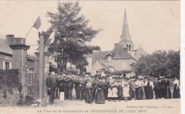 CPA Animée (03)  CRESSANGES  La Fête De La Centenaire Juillet 1910 Tradition Coutumes - France