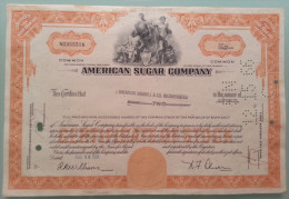 AMERICAN SUGAR COMPANY _  1966 - Azioni & Titoli