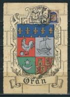 ALGERIE 1950 N° Oran Obl. S/CM - Cartes-maximum